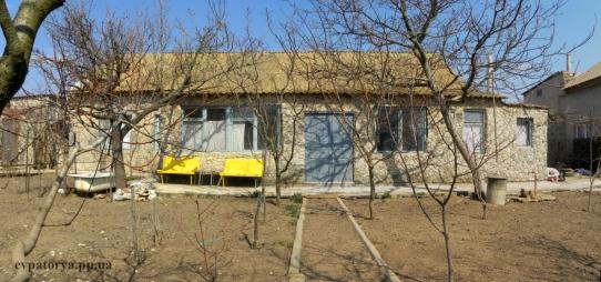 Трехкомнатный домик в курортном пригороде Евпатории