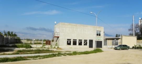 Логистический комплекс в пригороде Евпатории